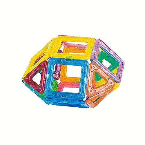 Lightahead 32PCS Mini Magnetic Construction Set Educational Stacking Kit For Kids Building Blocks Toys Set