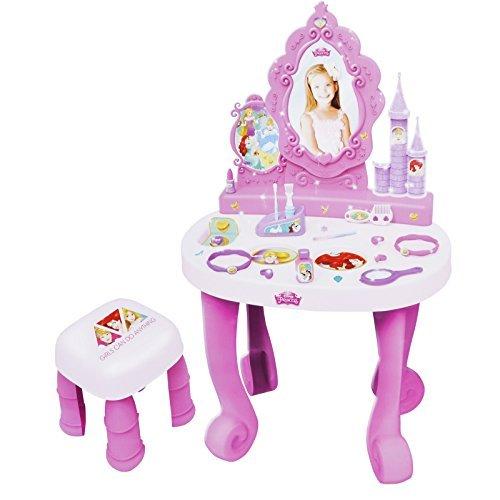 Disney Princess Dressing Table Play Set Girls Vanity Mirror Toy 17 Accessories by Disney Princess