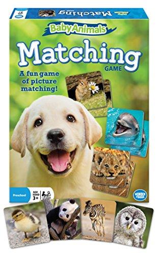 Baby Animals Matching Game