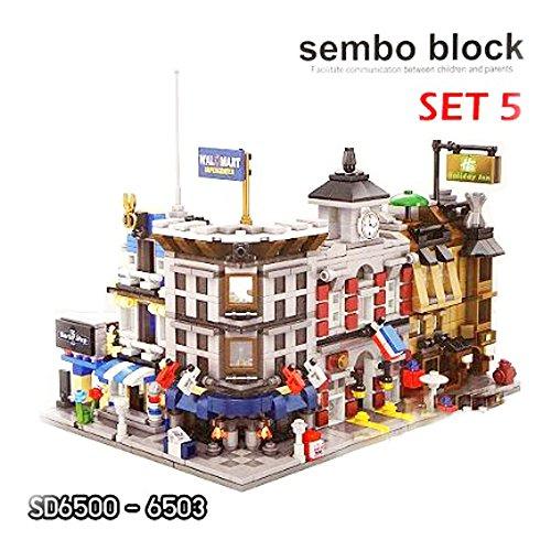Sembo Block Mini world 3D Building Blocks Construction