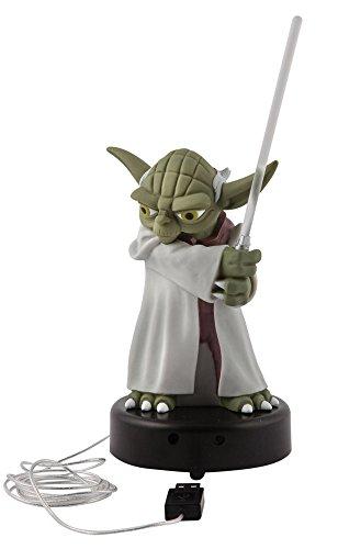 Joy Toy - Star Wars The Clone Wars Figure with light sound Yoda 14 cm