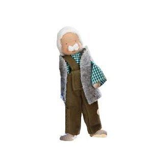Kathe Kruse Modern Dollhouse Dolls in Grandpa