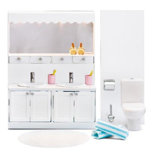 Lundby Smaland Dollhouse Bathroom Set