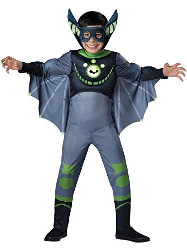 InCharacter Costumes Bat - Green Costume One Color Medium
