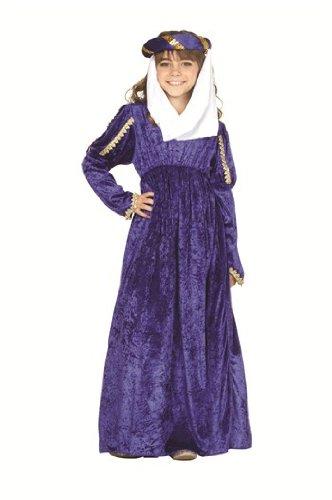 RG Costumes 91226-GR-S Renaissance Princess Green Costume - Size Child-Small