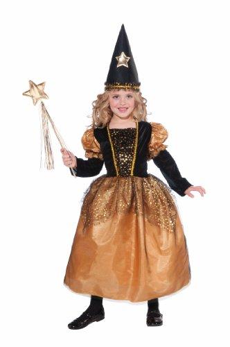 Forum Novelties Golden Star Sorceress Witch Child Costume Medium