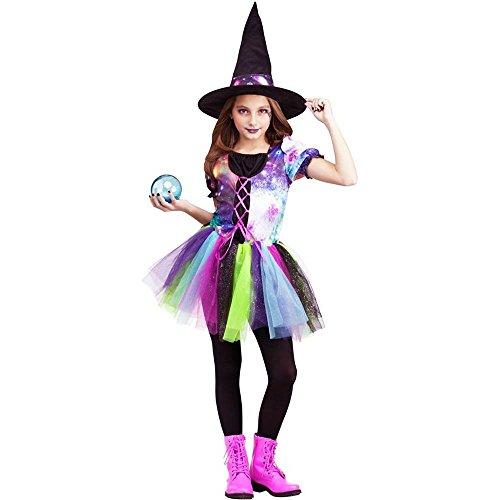 Fun World Cosmic Witch Childs Costume Medium 8-10