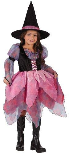 Fun World Wonderful Witch Child Costume Pink Large 12-14