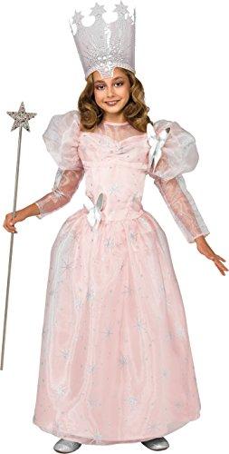R886495 8-10 Glinda Good Witch Child Costume New Edition