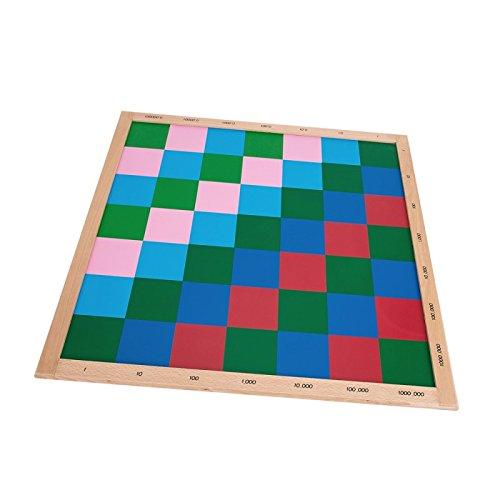 Montessori Math Materials Decimal Checker Board for Preschool Learning