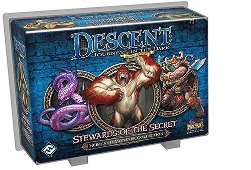 Descent Stewards of The Secret Board Game by Fantasy Flight Games