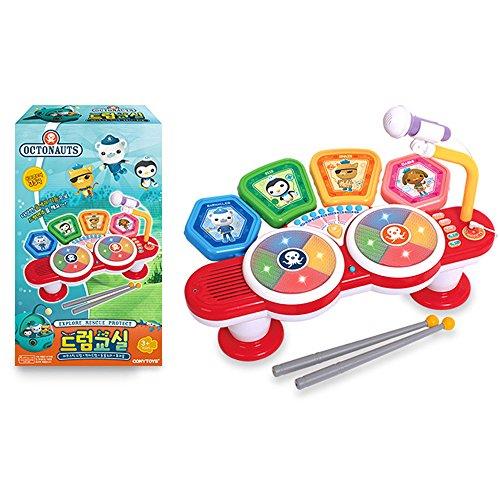 Conytoys Octonautss Story Kids Electronic Toy Drum Set