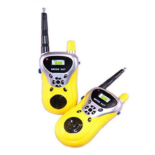 FEITONGTM 2Pcs Walkie Talkie Kids Electronic Toys Portable Two-Way Radio Set
