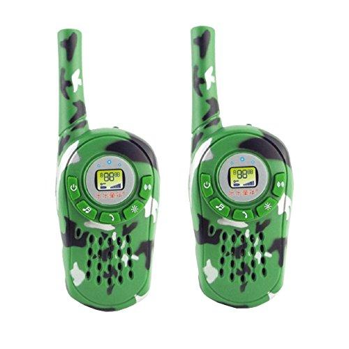 Talkie - SODIALR2PCS Walkie Talkie Kids Electronic Toys Portable Two-Way Radio Set 05W