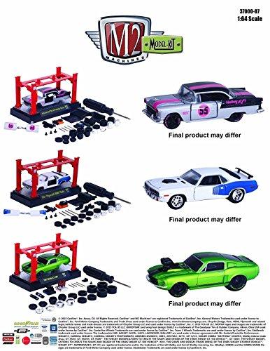 New 164 Model Kits AUTO-LIFT WAVE 7 ASSORTMENT Diecast Model Car By M2 Machines Set of 3 Cars