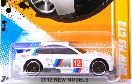 Hot Wheels 2012-005 HW Premiere BMW M3 GT2 WHITE wM12 Tampo 164 Scale