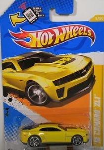 Hot Wheels 2012 12 Camaro ZL1 Yellow 2012 new models 9247 164 Scale by Mattel