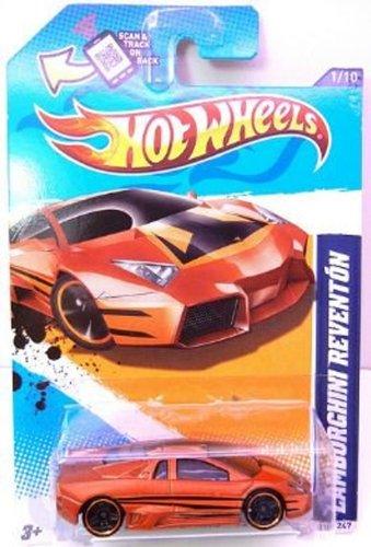 Hot Wheels 2012-121 Lamborghini Reventon BRONZE HW All Stars 12 164 Scale
