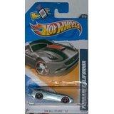 Hot Wheels 2012-127 All Stars Ferrari California GreySilver Metallic 164 Scale SCAN and TRACK Card