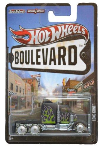 Hot Wheels 2012 Boulevard Series Long Gone 164 Scale Die-cast Vehicle