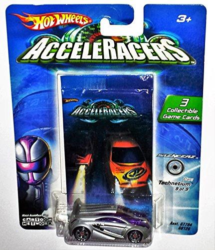 Hot Wheels AcceleRacers - Technetium - Silencerz 9 of 9
