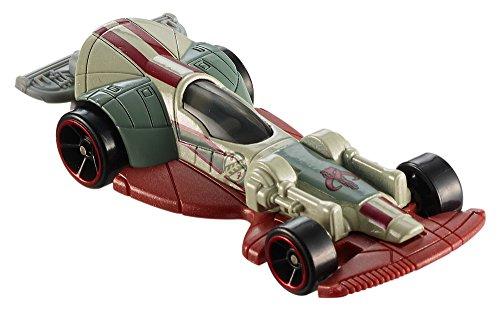 Hot Wheels Star Wars Boba Fetts Slave I Carship Vehicle