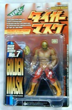 Violence Action Figures - Tiger Mask Series 7 - Golden Mask Toy