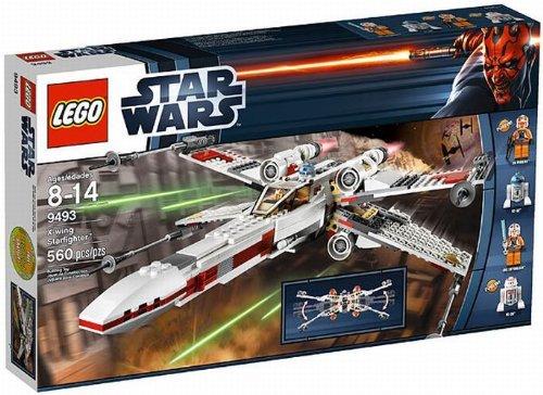 LEGOÂ Star Wars X-Wing Starfighter Spaceship with 4 Minifigures  9493