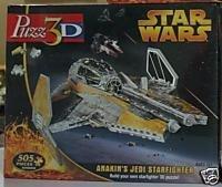 Puzz3D Star Wars Anakins Jedi Starfighter 505 Pieces