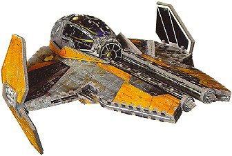 Star Wars Anakins Jedi Starfighter 505 Piece 3D Jigsaw Puzzle Made by Wrebbit Puzz-3D
