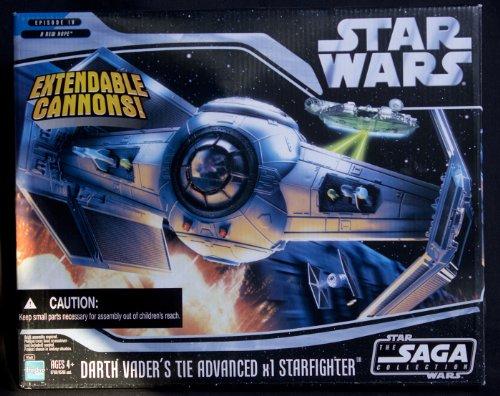 Star Wars - Darth Vaders TIE Advanced x1 Starfighter - The Saga Collection
