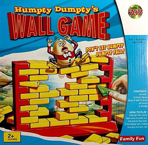 Humpty Dumptys Plastic Wall Game - Tearing Down Brick Demolition - 3D Fun Game