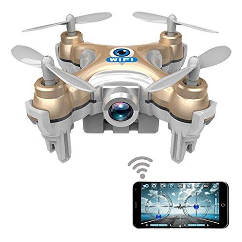 Dwi Dowellin Wifi RC FPV Real-time Transmission Mini Drone with HD Camera CX-10WG