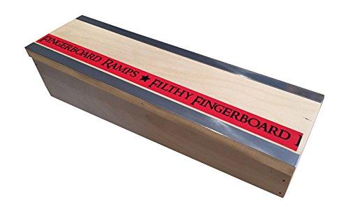 Slant Double Ledge Box Blackriver Ramps Style Filthy Fingerboard Ramps
