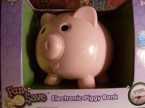 Blue Hat Fun to Save Electronic Piggy Bank