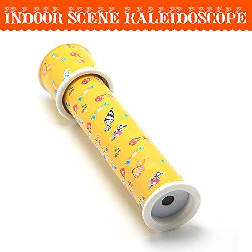 JXD Yellow Classic Big Kids Indoor Scene Kaleidoscope