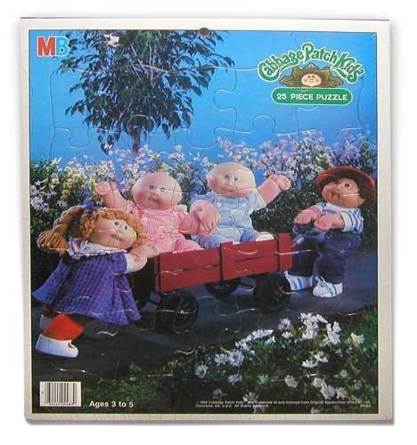 1984 Vintage Cabbage Patch Kids 25 Piece Puzzle