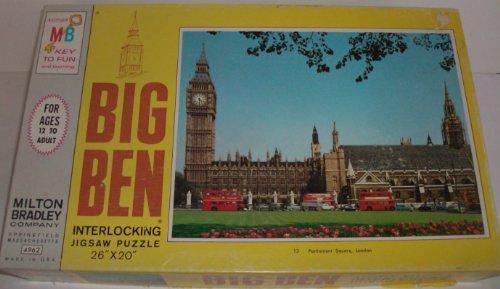 Big Ben Parliament Square London Vintage Puzzle including famous Big Ben Clock 1000 Piece Puzzle