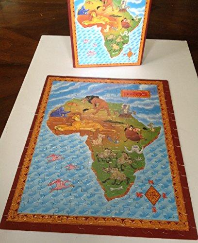 Lion King Africa Jigsaw Puzzle - Disney - 200 pieces - Vintage