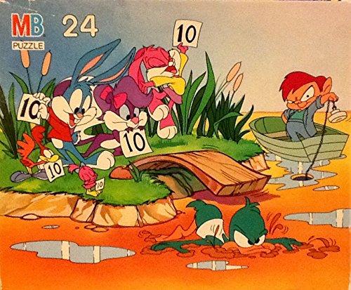 Tiny Toon Adventures Diving - 24 Piece Vintage Puzzle From Milton Bradley