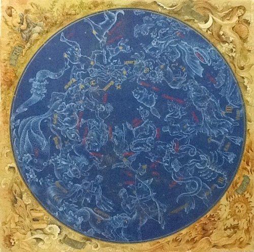 Vintage Authentic Springbok Puzzle ~ Constellations ~ 500 Piece ~ Fully Interlocking