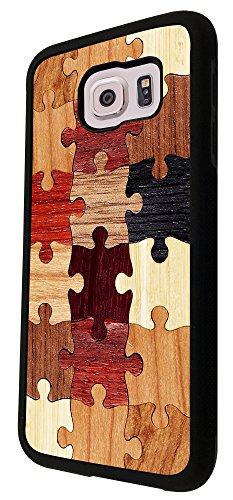 Vintage Puzzle Look Fun Design Samsung Galaxy S6 I9700 Fashion Trend Case Back Cover Plasticmetal