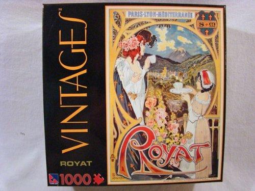 Vintages 1000 Piece Jigsaw Puzzle Royat
