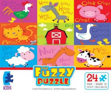 Ceaco The Fuzzy Puzzle Barn jigsaw puzzle