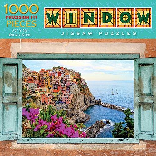 Luv-it Puzzles Window Series - Mediterranean Magic Jigsaw Puzzle 1000 Piece