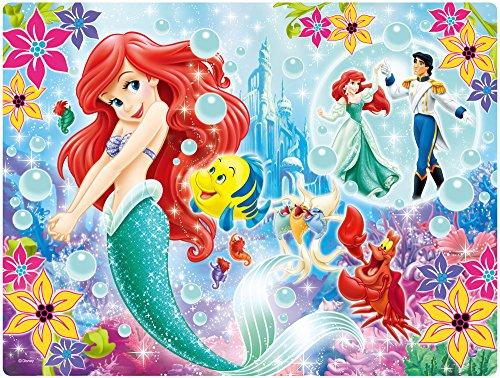 My 63 piece 3D magic jigsaw puzzle the Little Mermaid Ariel lenticular
