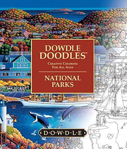 Dowdle Folk Art Dowdle Doodles National Parks Coloring Book