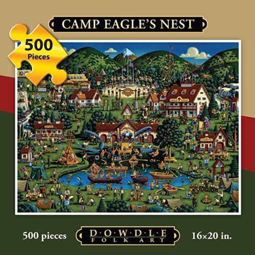 Jigsaw Puzzle - Eagles Nest 500 Pc By Dowdle Folk Art