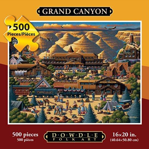 Jigsaw Puzzle - Grand Canyon 500 Pc By Dowdle Folk Art