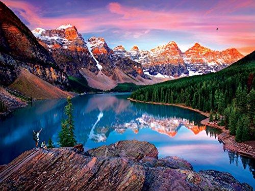Buffalo Games Reflections Mountains on Fire Jigsaw Bigjigs Puzzle 750 Piece